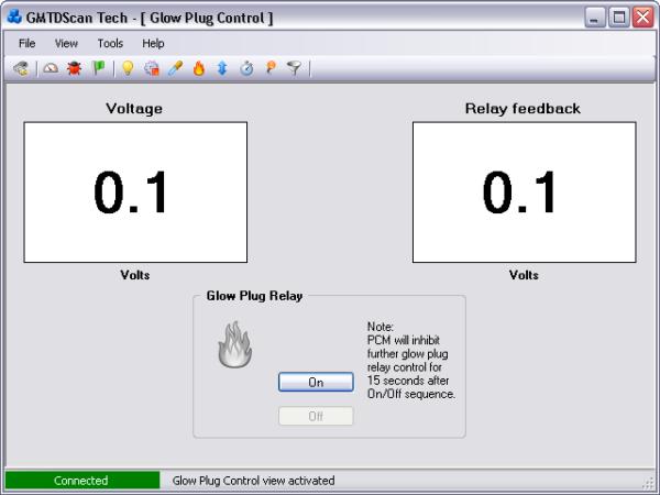 GMTDScan Tech - Glow Plug Control