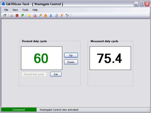 GMTDScan Tech - Wastegate Control